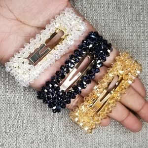 3/$20 ❤Set of Three Beaded Hair Clip - square
